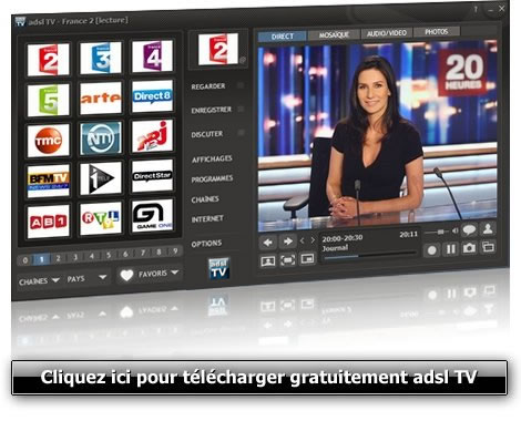 2011.1 TV TÉLÉCHARGER ADSL VERSION