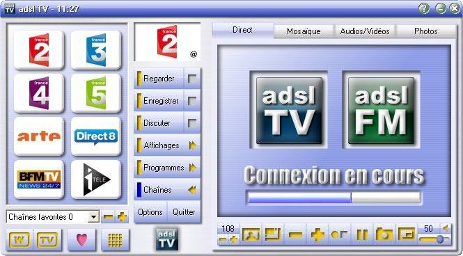 ADSL GRATUIT TÉLÉCHARGER TV 2011.2